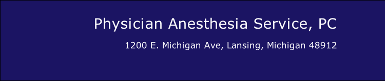Physician Anesthesia Service, PC